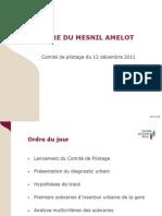 Présentation SGP Copil Mesnil Amelot 061211
