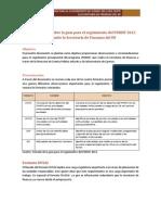 Observaciones sobre la guía para el seguimiento del PDHDF 2012 que emite la Secretaría de Finanzas del DF