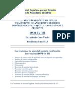 Criterios diagnósticos de tt de Ansiedad.