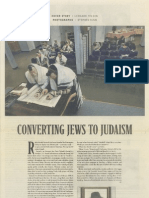 Converting Jews to Judaism
