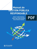 Manual de gestión pública responsable.