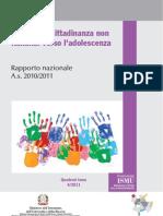 Alunni Con Cittadinanza Non Italiana a.s.201011 Luisa