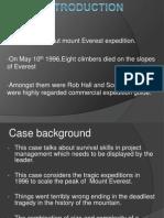 Everest Case Final Ppt