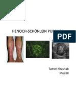 Henoch-Schönlein Purpura updated