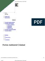 Imprimir - Perícia Ambiental Criminal - Livraria Policial