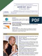 December 11 2011 Email