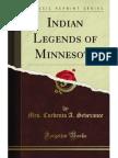 Indian Legends of Minnesota - 9781451017199