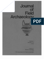 Journal of Field Archaeology - Vol 1-2 (1974)