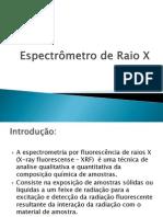 Espectrômetro de Raio X