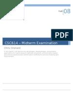 CS614 Midterm Grenard