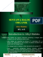 Senyawa Halogen Organik