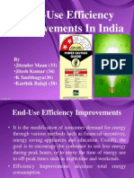 End-Use Efficiency Improvements in India