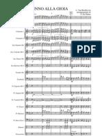 Partitura Banda Completa - Beethoven, Ludwig Van - Inno Alla Gioia