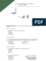 Guía de Volumen de Prismas Rectos y Piramides