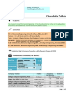 Resume Pune New 11Prof Sinhgad