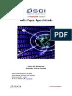 Type of Attacks DSCI White Paper 1