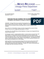 Release - Home Invasion Charges