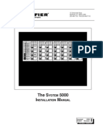 System 5000 Install