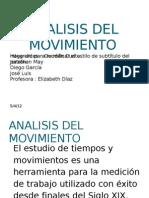 Analisis Del Movimiento