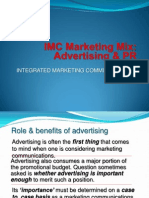5- IMC Marketing Mix Advertising & PR COPY