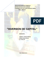 Inversion de Capital