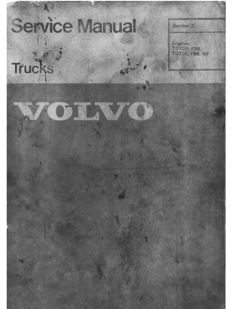 Volvo tamd 73 manual 3 6 5 array volvotd70 service manual engine piston internal combustion engine rh scribd fandeluxe Choice Image