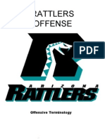 2008 Rattlers Playbook Draft Power Point 1-23-08