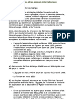 Le Maroc Et Les Accords Internationaux