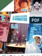 Programme journées du cinéma d'animation Site