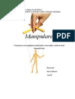 PROIECT MANIPULARE
