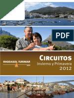 Circuitos Rhodasol 2012 Invierno y Primavera
