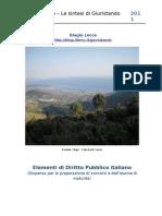 Dispensa Di Diritto Pubblico Italiano 2011-2012