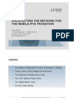 SGNOG Mobile IPv6 Transitions Strategies
