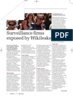 Surveillance firms exposed by WikiLeaks