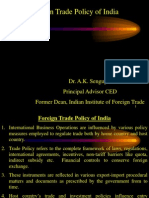 Foreign Trade Policy of India (a)