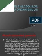 Efectele Alcolilor Asupra Organismului