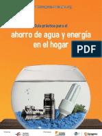 Guía práctica para el ahorro de agua y energía en el hogar