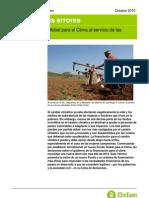 Corregir dos errores. Un nuevo Fondo Global para el Clima al servicio de las personas pobres