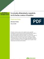 La Ayuda Alimentaria Española en la Lucha Contra el Hambre
