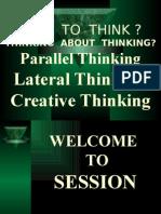 Creative Thinking  New