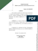 Decisão-multa de vistoria não impede obtenção de cnh definitiva