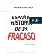 Espana Historia de Un Fracaso Spanish Edition