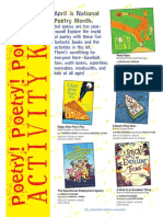National Poetry Month Activity Kit