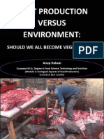 Meat Production vs Environment