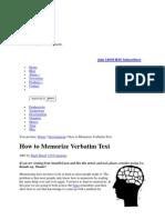 Mnemonics Research