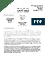 2011 Fall Intro to AMS Syllabus