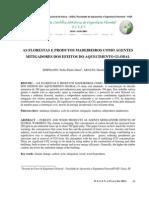 A Floresta e Produtos Madeireiros Como Agentes ores Dos Efeitos Do Aquecimento Global