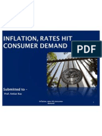 Inflation,Rates Hit Consumer Demand..