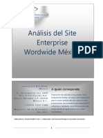ANALISIS DEL  WEB SITE ENTERPRISE WORDWIDE MÉXICO