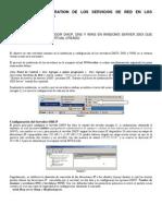 Instalacion de Un Servidor DHCP, DNS y WINS en Widows Server